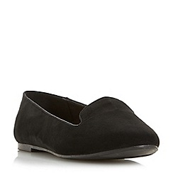Head Over Heels by Dune - Black 'Hales' loafers