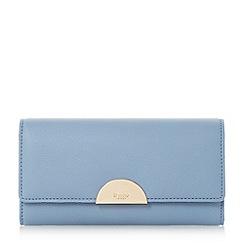 Dune - Blue 'Kaandelion' semi circle hardware purse