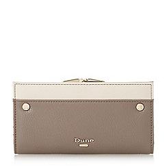 Dune - Grey 'Kavie' colourblock frame purse