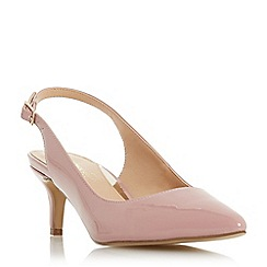 Head Over Heels by Dune - Mid rose 'Corrin' kitten heel court shoes