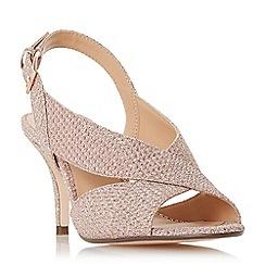 Roland Cartier - Rose 'Matilda' mid kitten heel court shoes