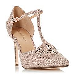 Roland Cartier - Silver 'Denira' high stiletto heel court shoes