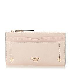 Dune - Light pink 'Karan' contrast trim purse