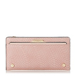 Dune - Natural 'Kerrie' slim purse with removable card holder