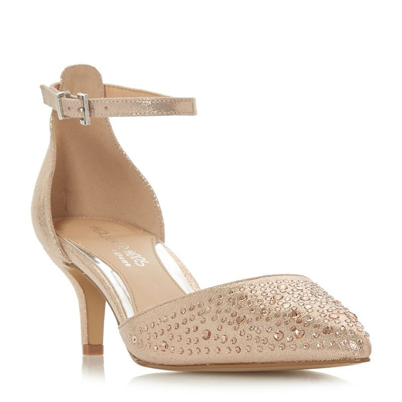 Head Over Heels by Dune - Rose Caitlin Court Shoes