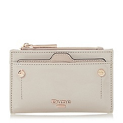 Dune - Taupe 'Kimogen' mini purse with removable card holder