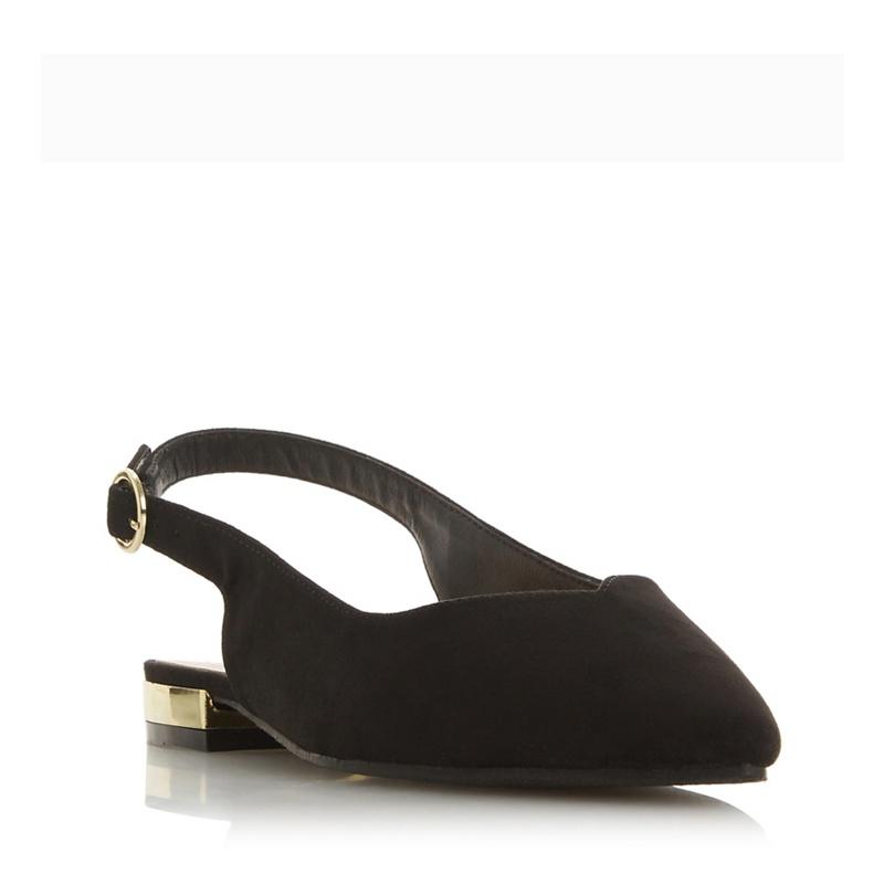 df638c7f949 Head Over Heels by Dune - Black  Happy  Slingbacks Sandals