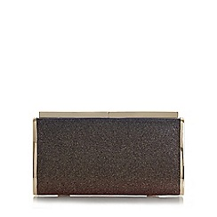Dune - Multicoloured 'Brixxton' rectangular hard case clutch bag