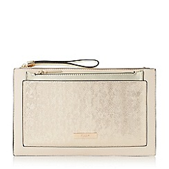 Dune - Light pink 'Essa' removable pouch clutch bag