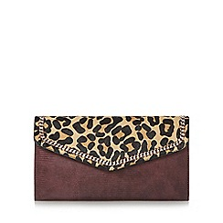 Dune - Multicoloured 'Elaine' chain detail envelope clutch bag
