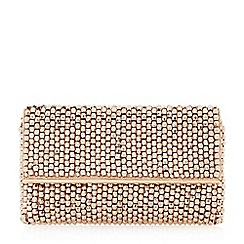 Dune - Rose 'Eternity' beaded clutch bag