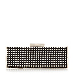 Dune - Gold 'Essie' studded clutch bag