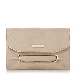 Dune - Neutral grab handle clutch bag