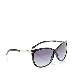 Dune - Black 'Georgia' cateye sunglasses
