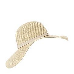 Dune - Natural 'Filona' straw floppy hat