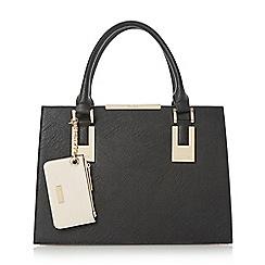 Dune - Multicoloured 'Deedee' structured top handle handbag