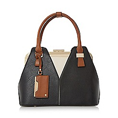 Dune - Multicoloured 'Dorah' colour block frame detail handbag limited edition
