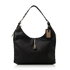 Dune - Black-synthetic 'Daryl' colour block shoulder strap hobo bag