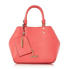 Dune - Bright pink 'Dibby' purse charm shopper bag