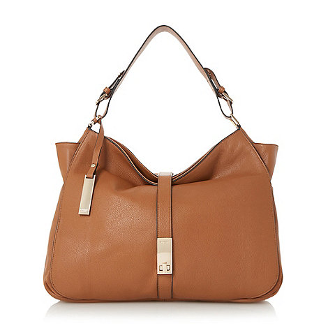faux ostrich purse - tan - Handbags & purses - Women | Debenhams