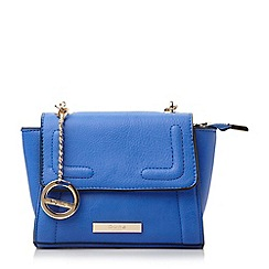 Dune - Blue mini winged cross body bag