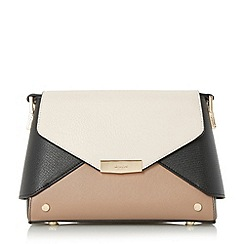 Dune - Multicoloured 'Darlla' fold over cross body bag