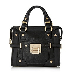 Dune - Black 'Dinidellta' mini hardware detail tote bag