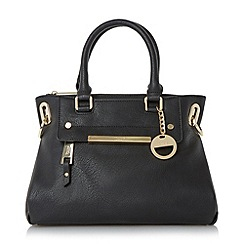 Dune - Black 'Dinidanniella' mini slouchy top handle handbag