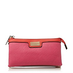 Dune - Multi colour block multi compartment purse