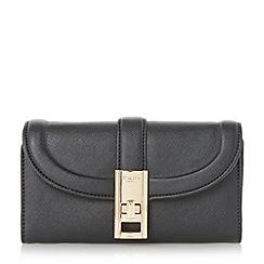Dune - Black 'Kendraa' twist lock purse