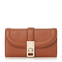Dune - Tan 'Kendraa' twist lock purse