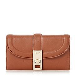 Dune - Tan 'Kendraa' twist lock purse