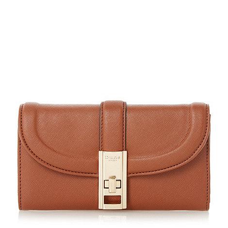 Dune - Tan +Kendraa+ twist lock purse