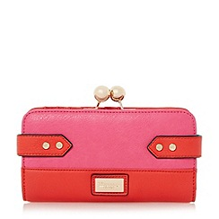 Dune - Multi colour block side tab detail purse