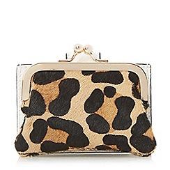 Dune - White 'Kelsey' mini frame coin purse