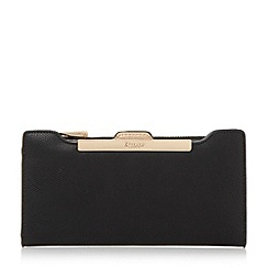 Dune - Black 'Kiri' purse with removable card holder