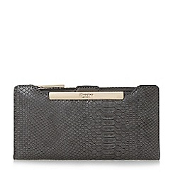 Dune - Grey 'Kiri' purse with removable card holder