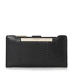 Dune - Black 'Kiri' purse with removable card holder