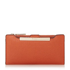Dune - Orange 'Kiri' purse with removable card holder