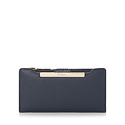 Dune - Navy 'Kiri' purse with removable card holder
