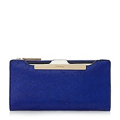 Dune - Blue 'Kiri' purse with removable card holder