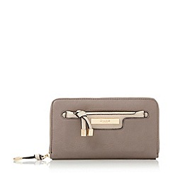 Dune - Grey 'Kpolly' purse with removable pouch