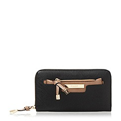 Dune - Black 'Kpolly' purse with removable pouch