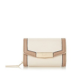 Dune - Cream 'Kaitlyn' small fold over purse