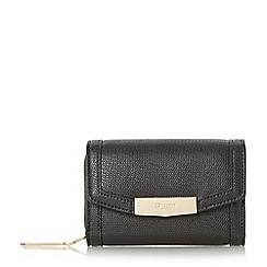 Dune - Black 'Kaitlyn' small fold over purse