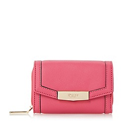 Dune - Bright pink 'Kaitlyn' small fold over purse