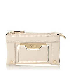 Dune - Taupe 'Kathryn' double pouch purse