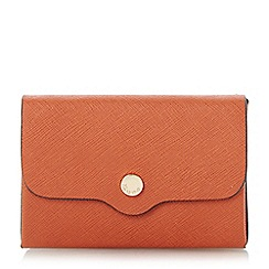 Dune - Orange 'Kimberley' mini envelope purse