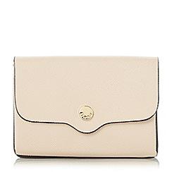 Dune - Natural 'Kimberley' mini envelope purse