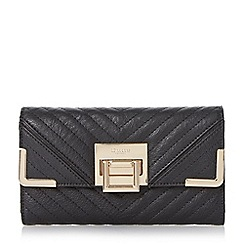 Dune - Black-synthetic 'Kourtney' quilted detail purse